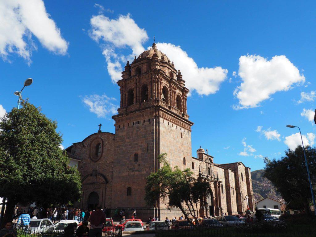 Beautiful Coricancha. A monastery in Cusco